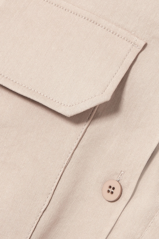 LOW CLASSIC Crepe shirt