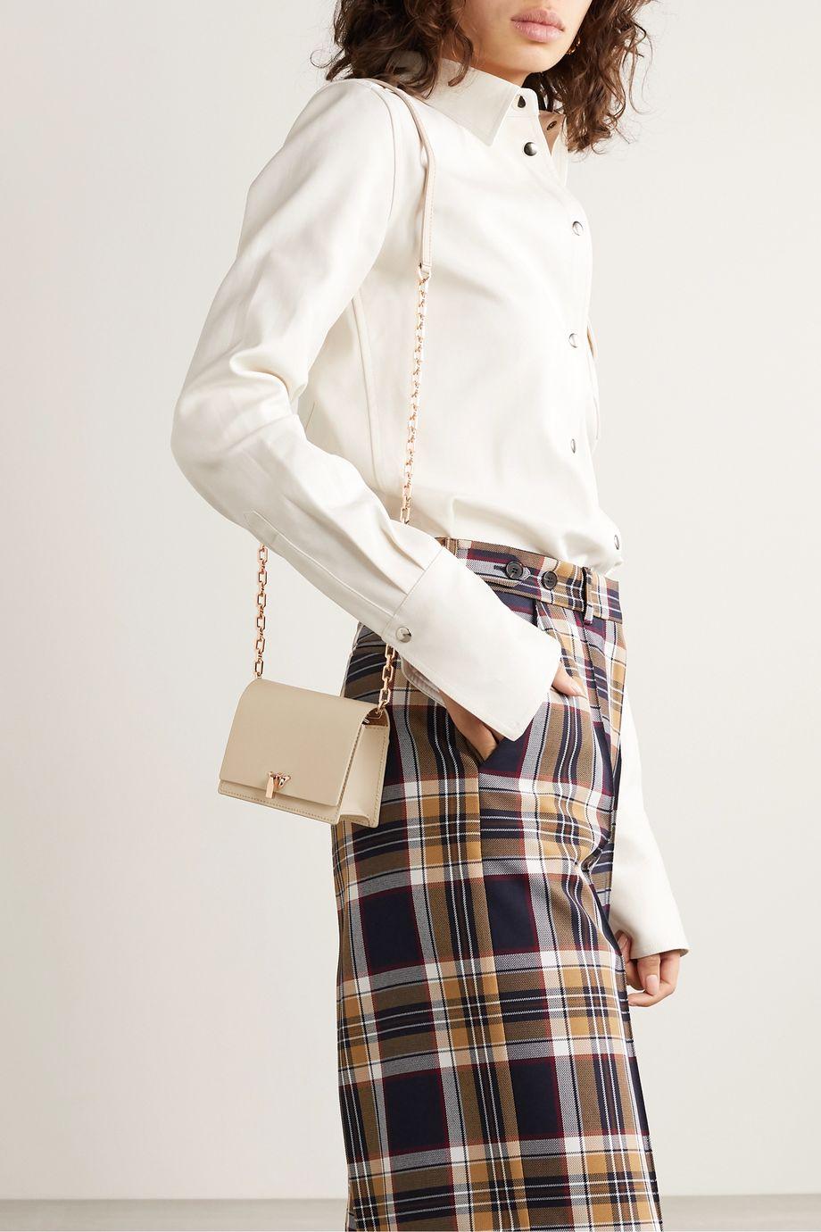 THE VOLON Po Pocket mini leather shoulder bag