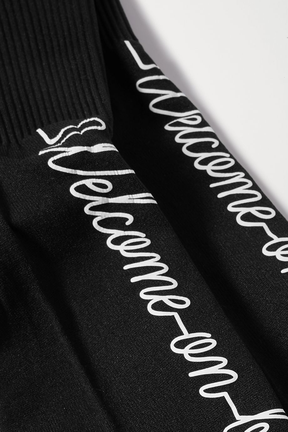 Maria La Rosa Printed ribbed-knit compression socks