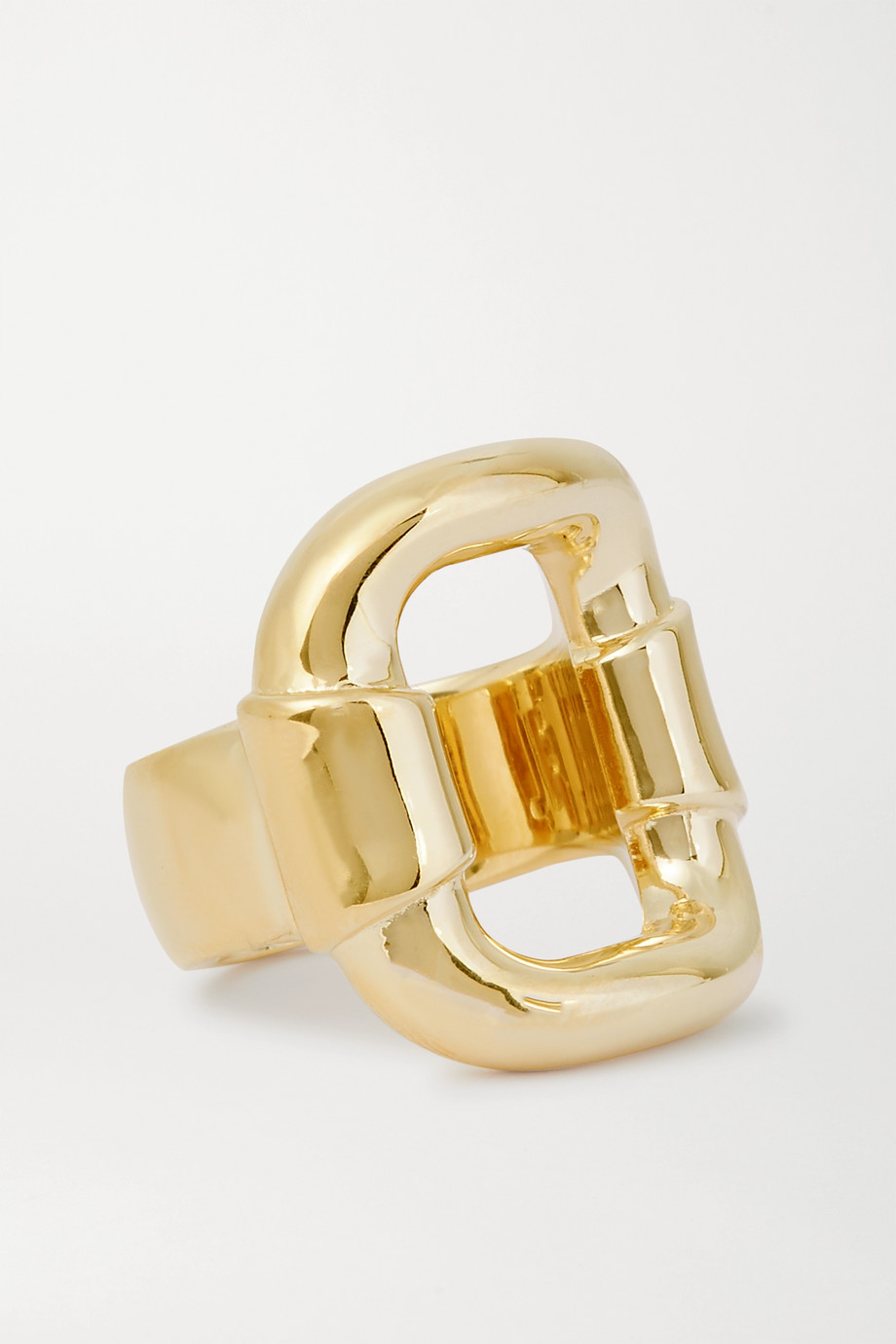 Jennifer Fisher Belt gold-plated ring