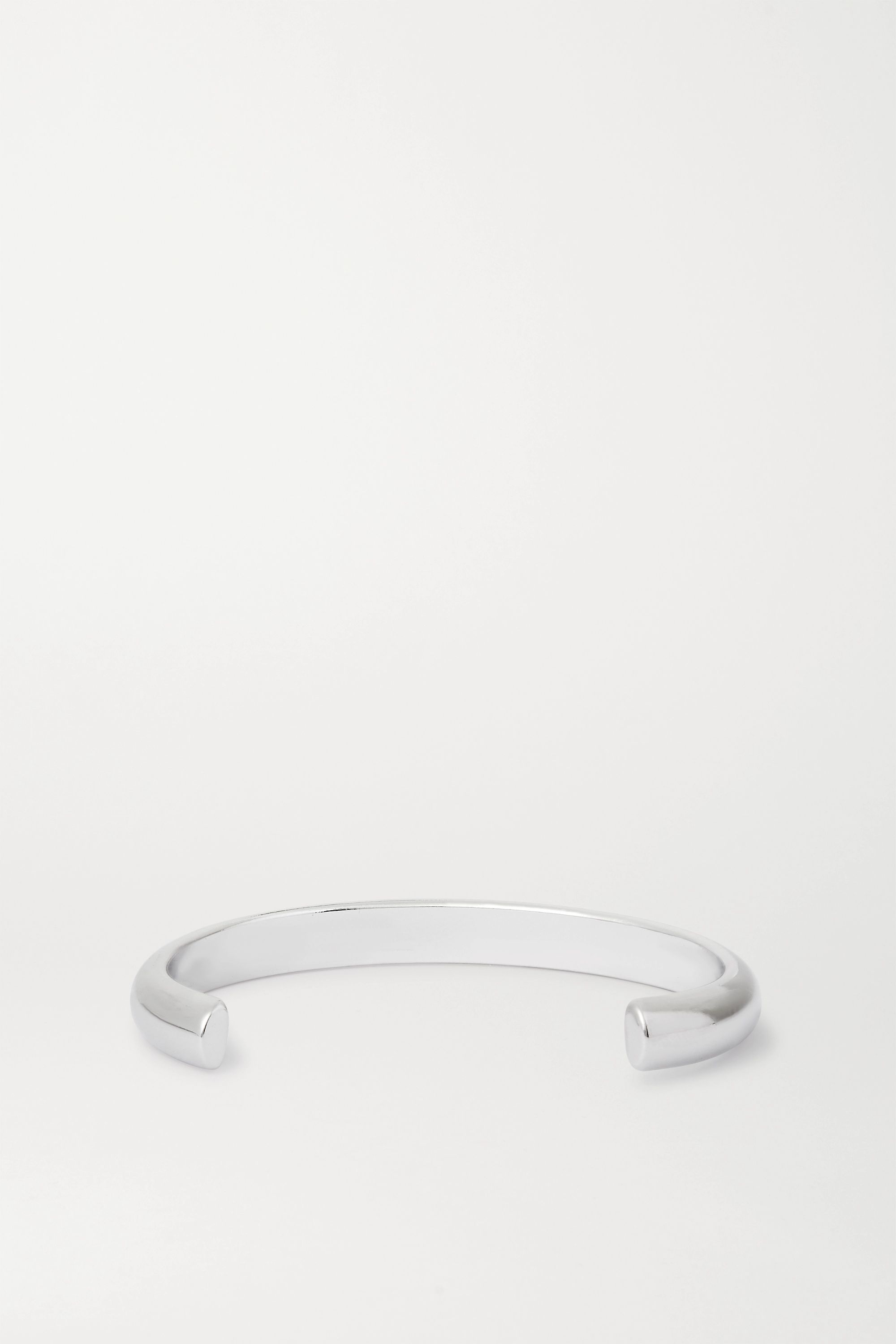 Jennifer Fisher Half Round silver-plated cuff