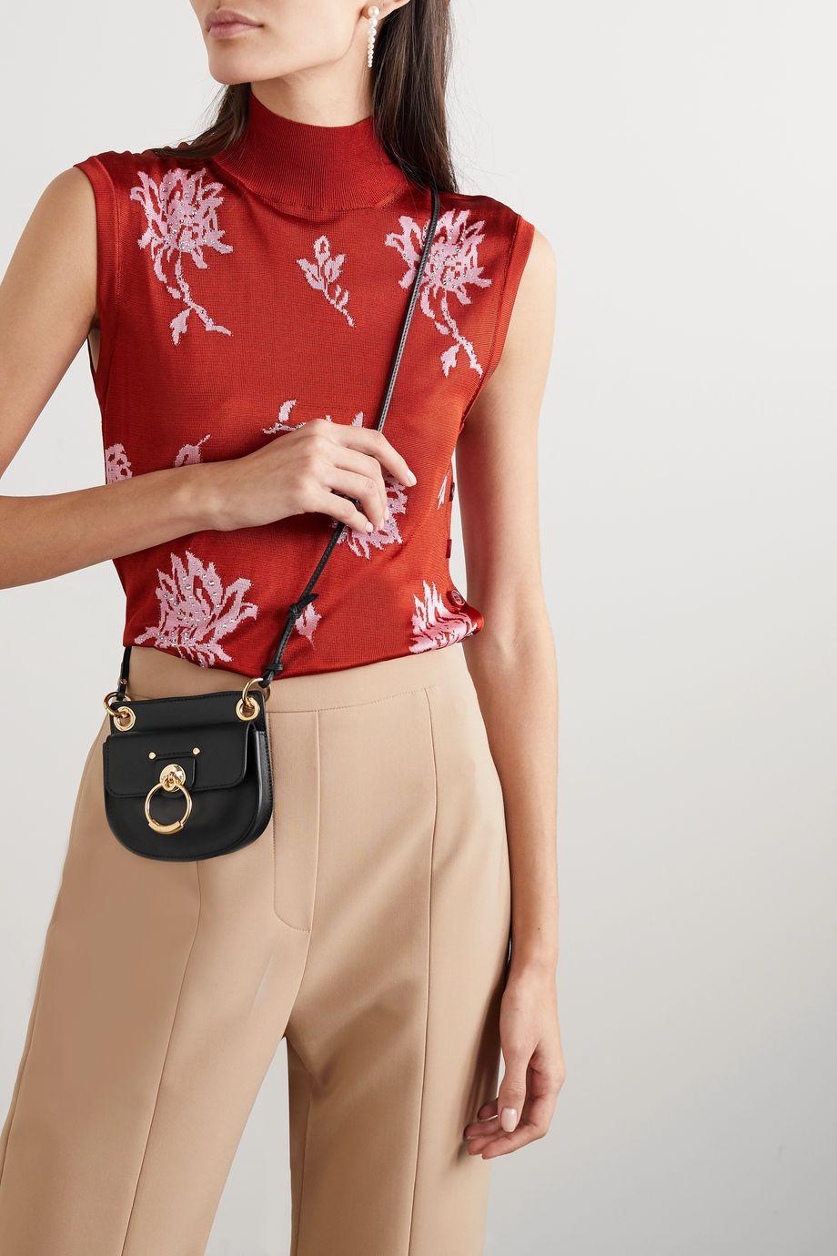 Chloé Tess mini leather shoulder bag