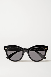 The Row + Oliver Peoples Georgica round-frame acetate sunglasses