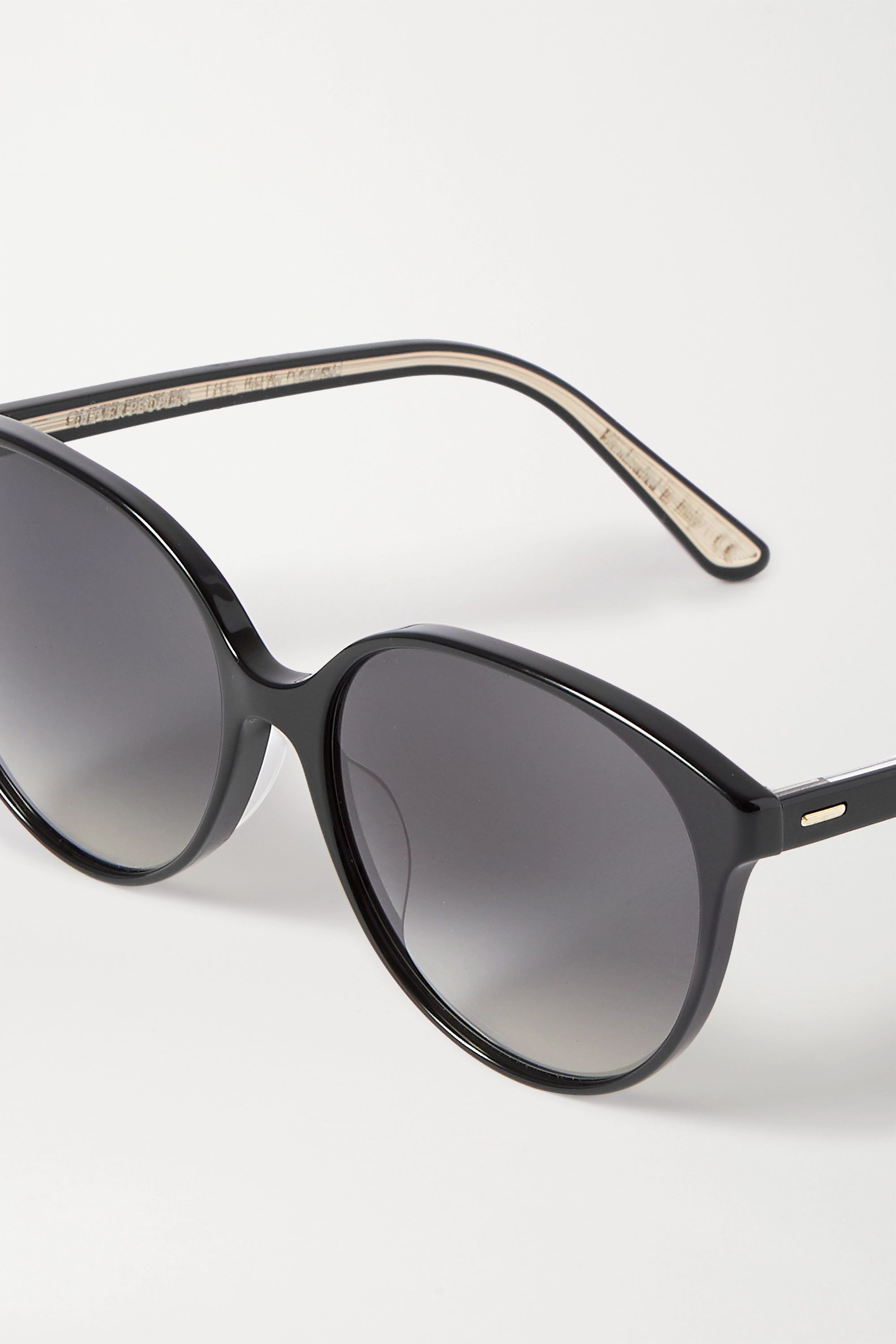 The Row + Oliver Peoples Brooktree round-frame acetate sunglasses