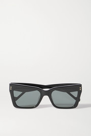 Zimmermann Cipher square-frame acetate sunglasses