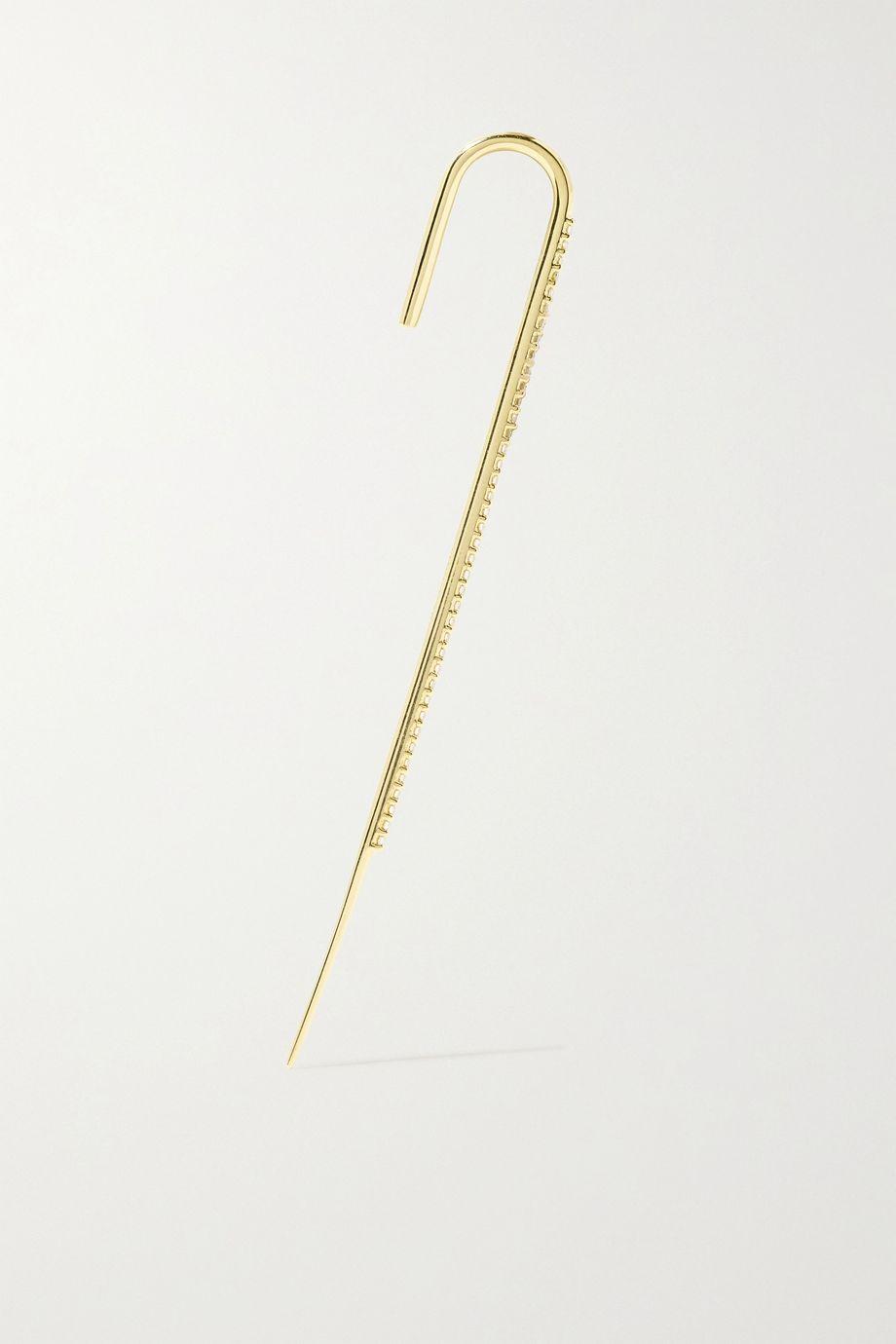 KATKIM Ear Cuff aus Gold mit Diamanten