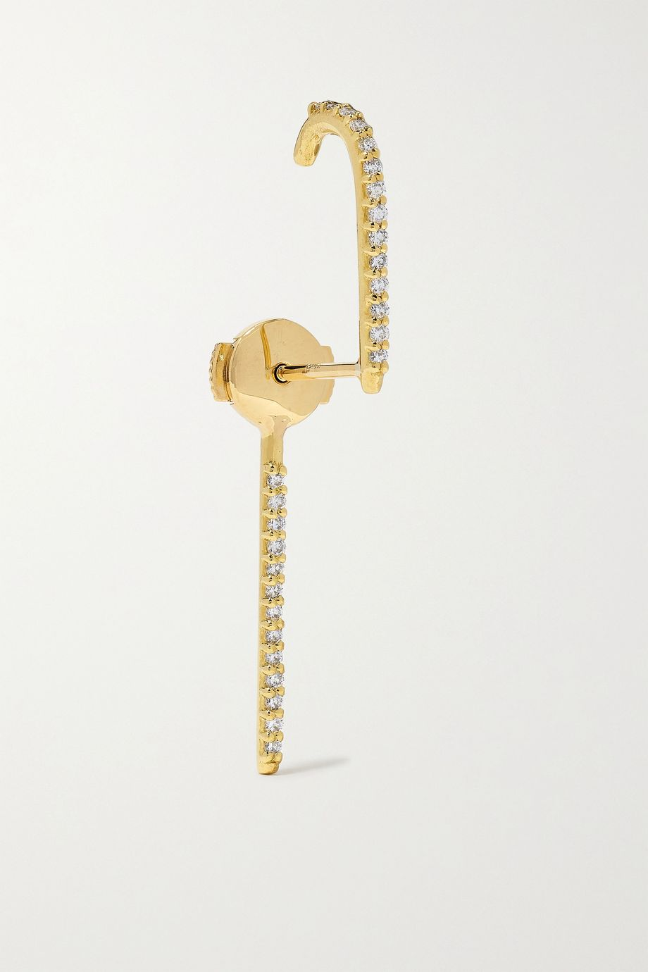 KATKIM Gold diamond earring
