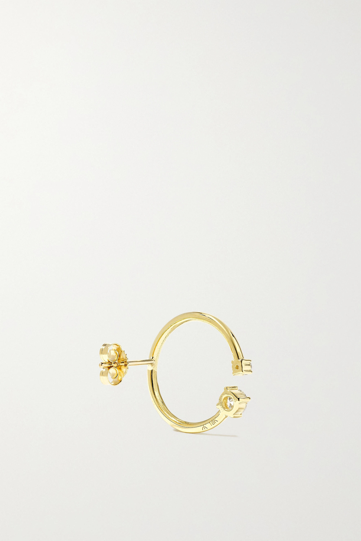 KATKIM Loraine 黄金、钻石、珍珠耳环