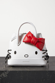 Balenciaga + Hello Kitty printed leather tote