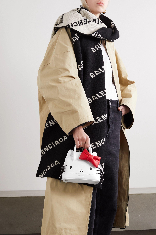 Balenciaga + Hello Kitty printed leather tote