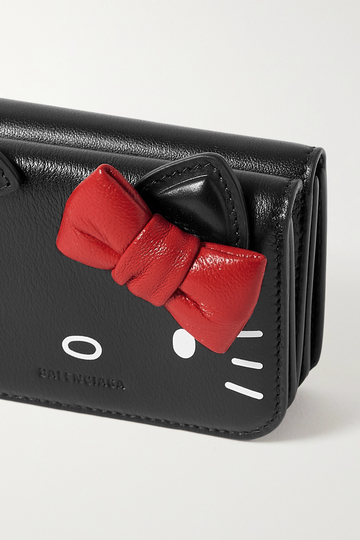 Balenciaga + Hello Kitty printed leather wallet