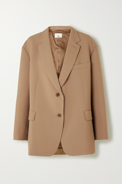 Frankie Shop Bea gabardine blazer