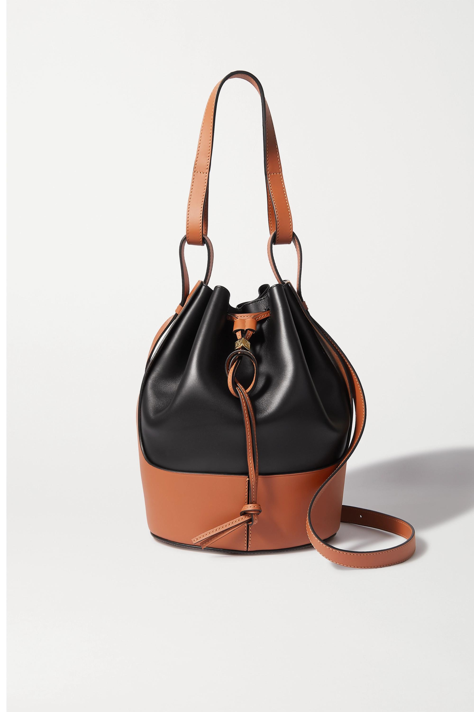 Loewe Balloon small two-tone leather bucket bag