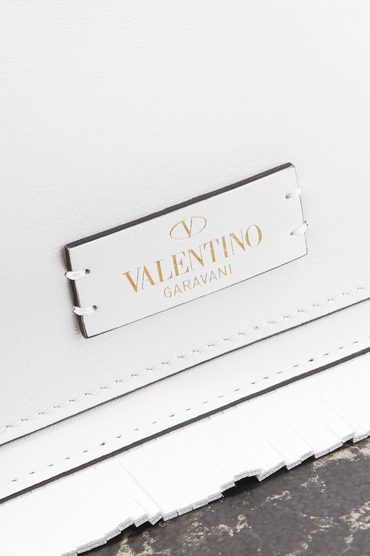 Valentino Valentino Garavani The Rope tasseled fringed leather clutch