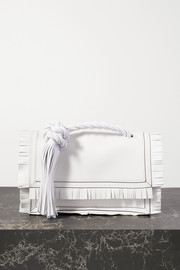 Valentino Valentino Garavani The Rope tasseled fringed leather clutch
