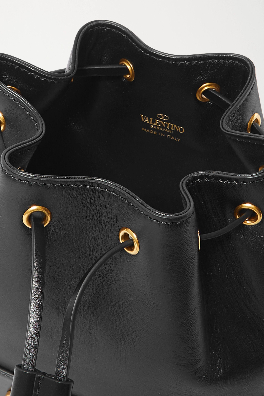 Valentino VLOGO leather bucket bag