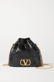 Valentino VLOGO leather bucket bag