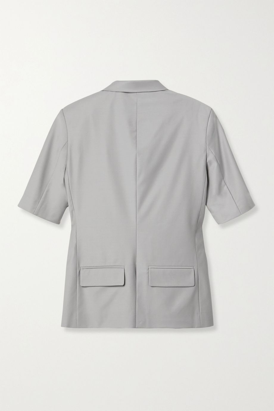Situationist Pleated wool shirt