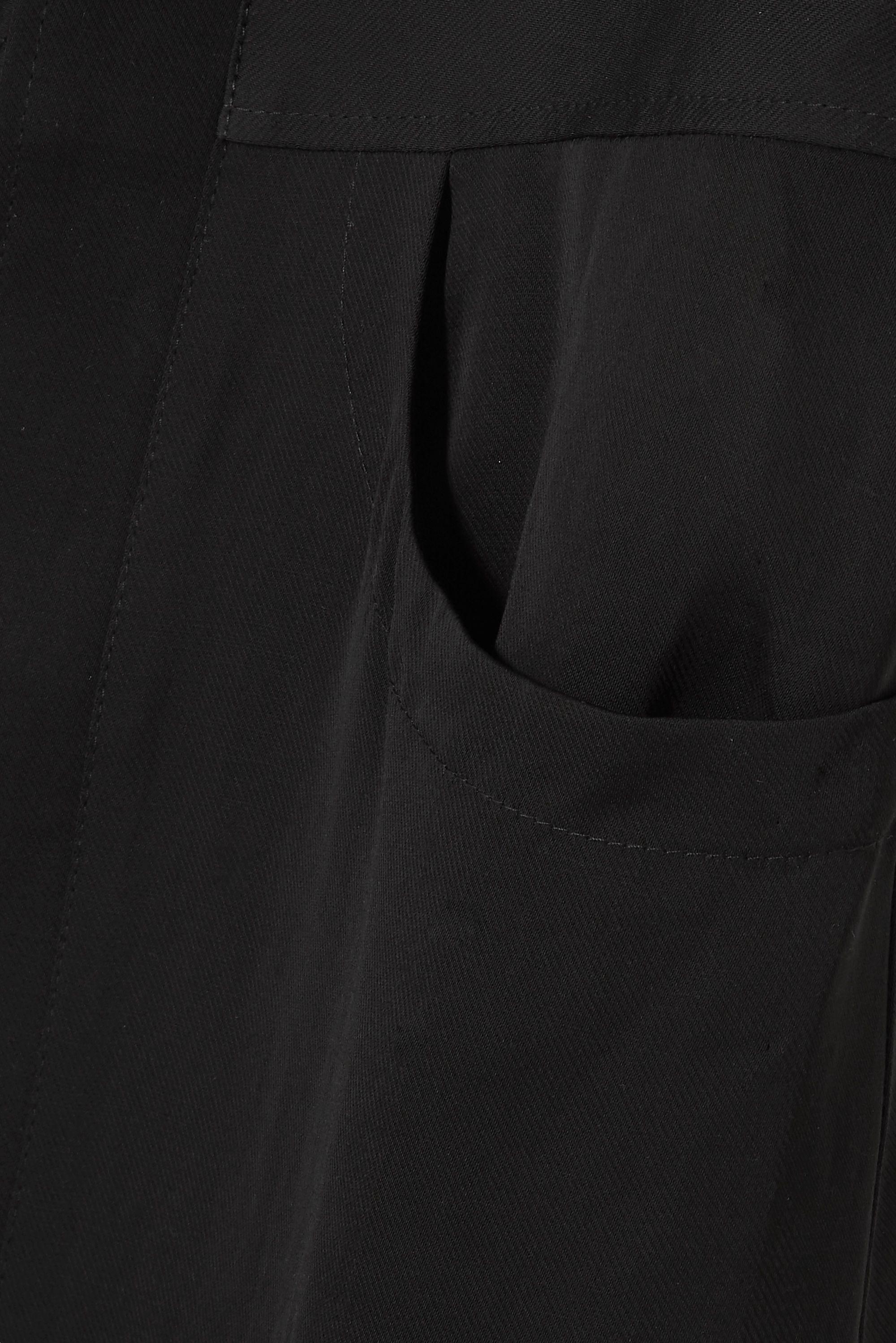 Situationist 斜纹布中长衬衫式连衣裙