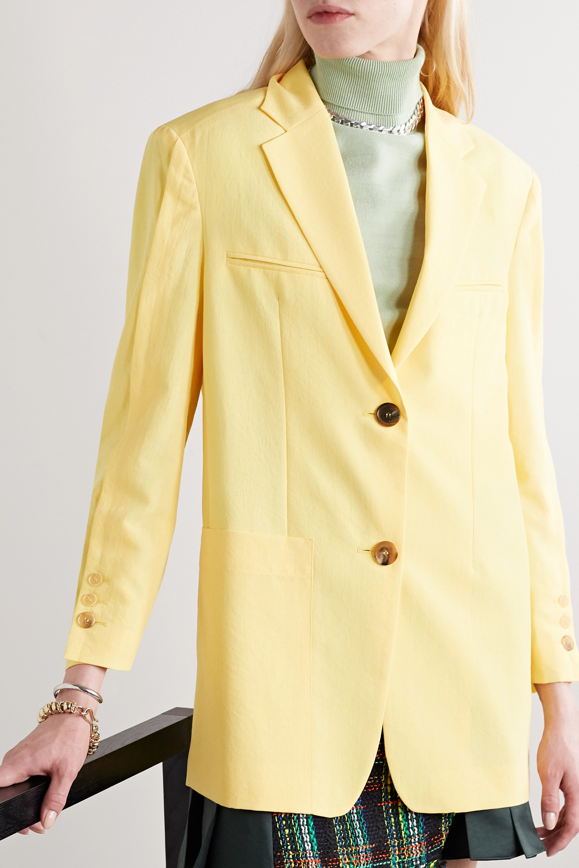 Andersson Bell Cintia oversized woven blazer