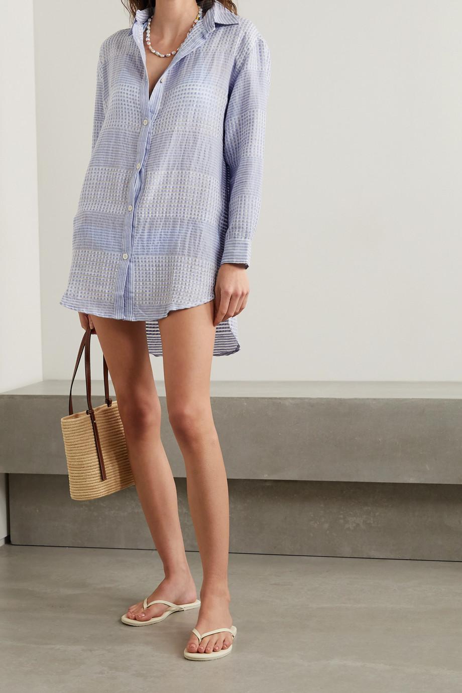 LemLem Semira Hemd aus Baumwollgaze