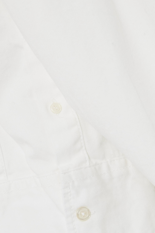 Denimist Belted cotton mini shirt dress