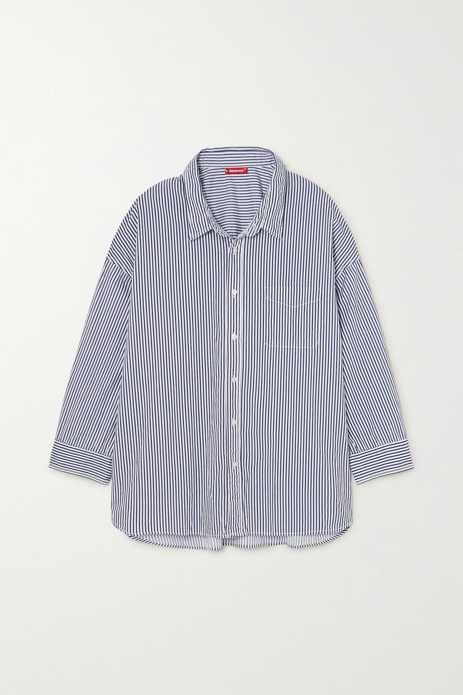 Denimist Striped cotton shirt