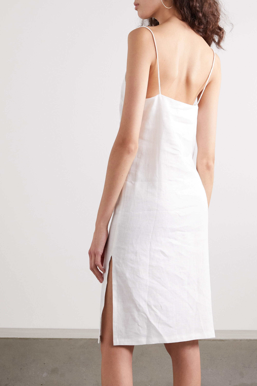 MATIN Linen midi dress