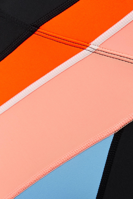 P.E NATION Aerial Drop color-block stretch leggings