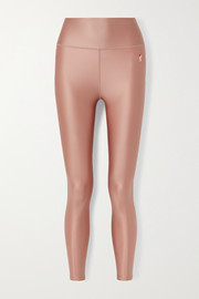 P.E NATION Reflex metallic stretch leggings
