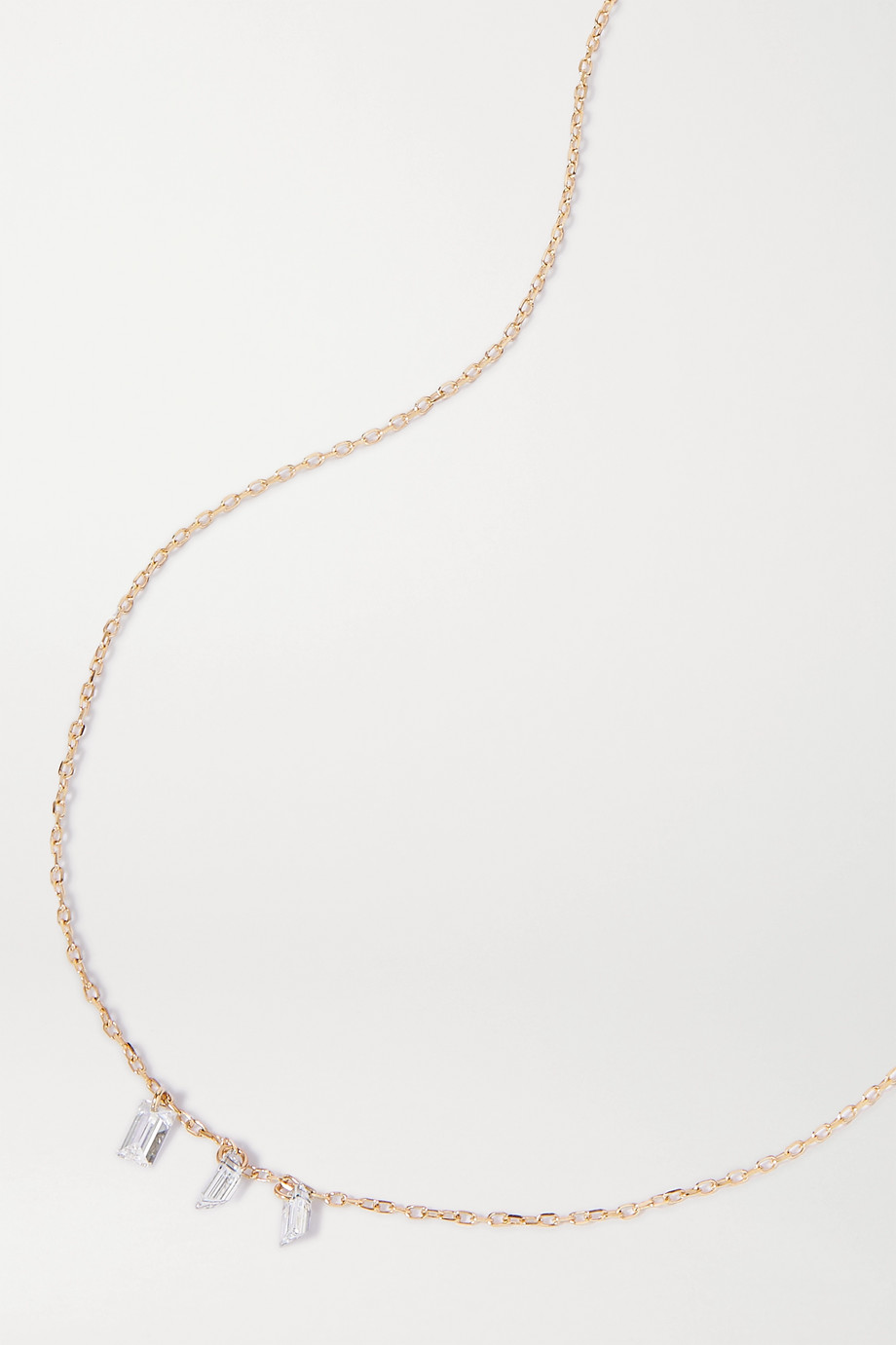 Persée Danaé gold diamond necklace