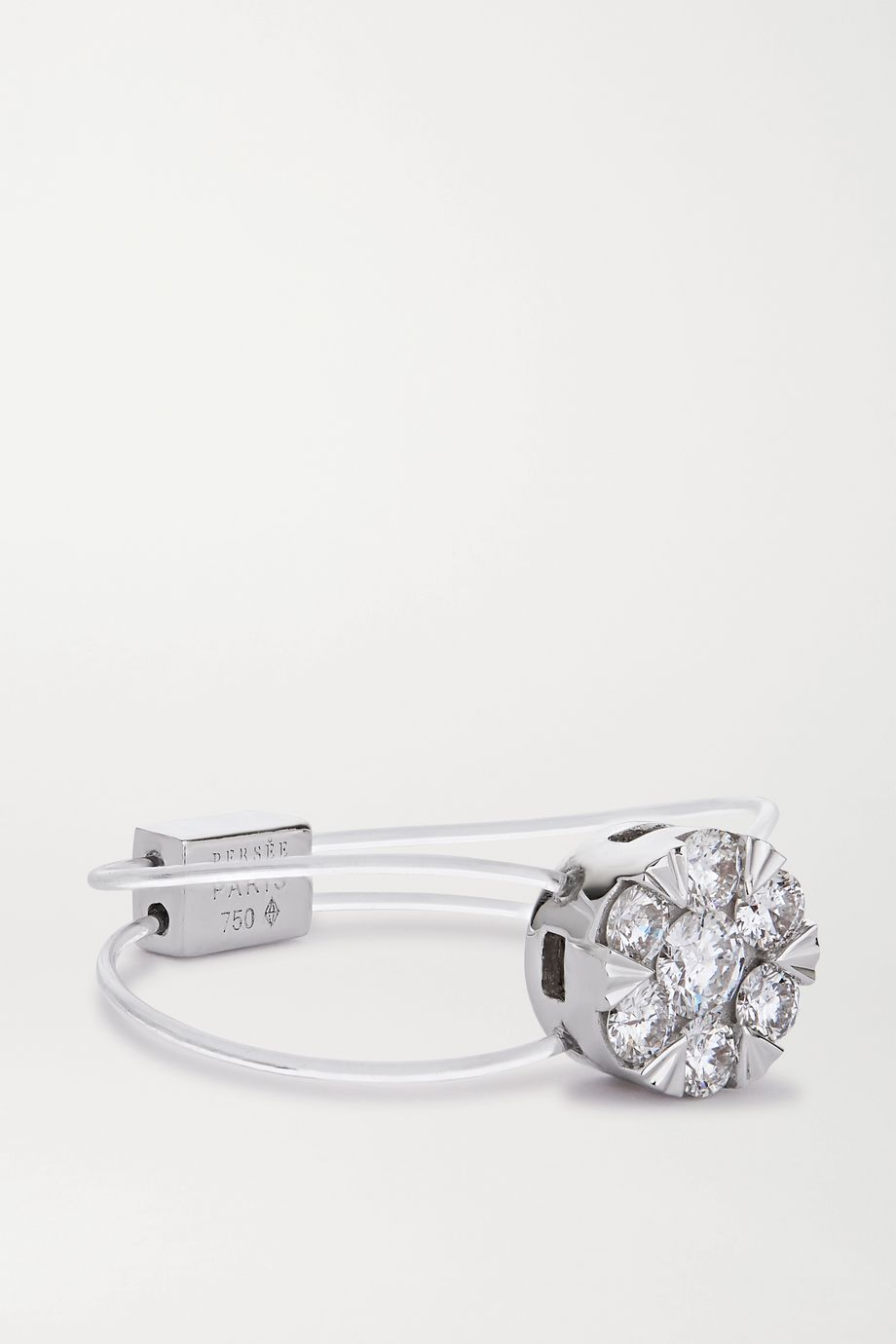 Persée Imagine 18-karat white gold diamond ring