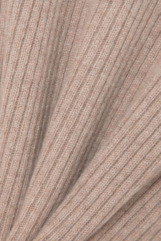 Reformation Hart Pullover aus einer gerippten Kaschmir-Wollmischung