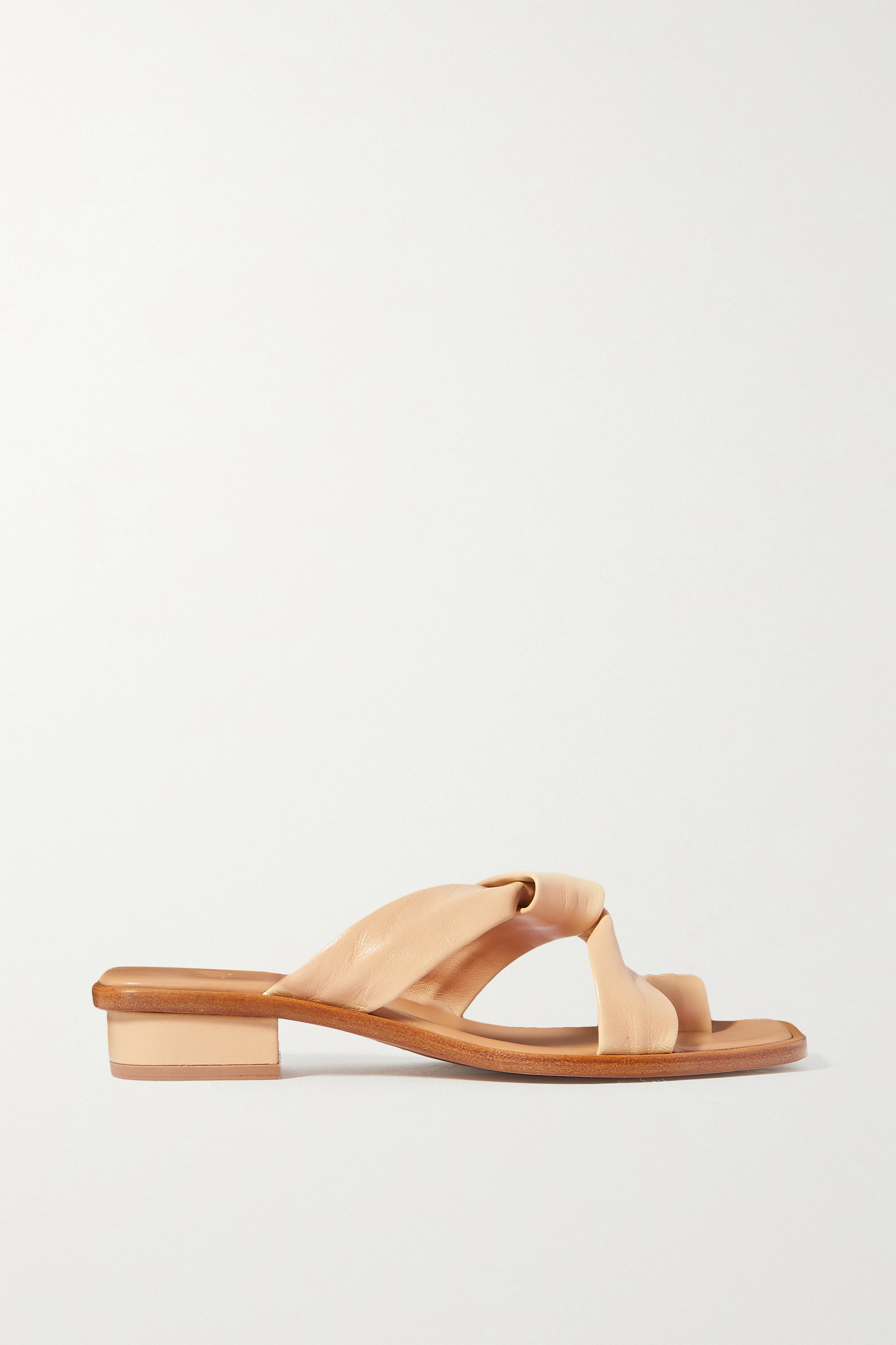LOQ Pau knotted leather sandals