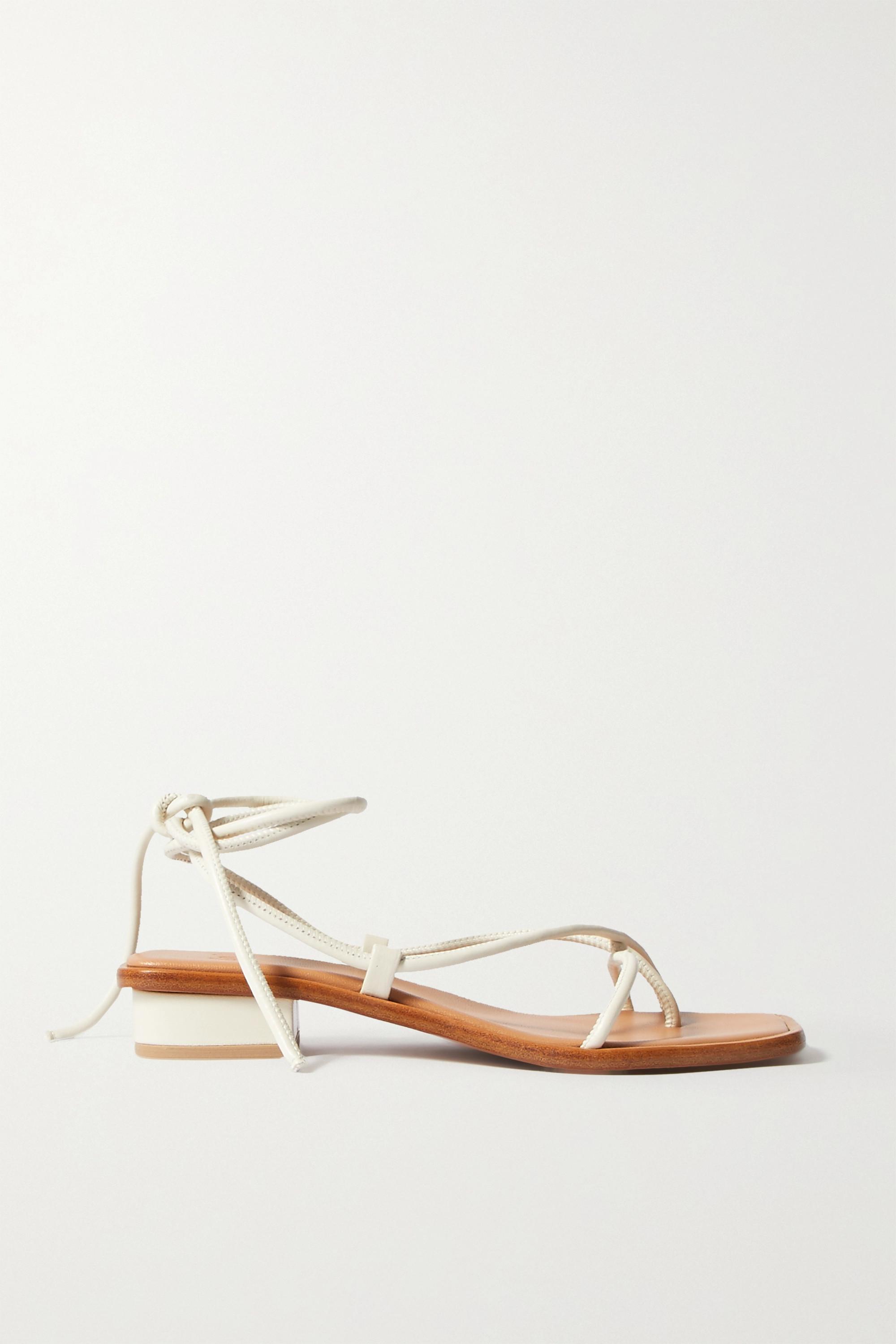 LOQ Ara Sandalen aus Leder