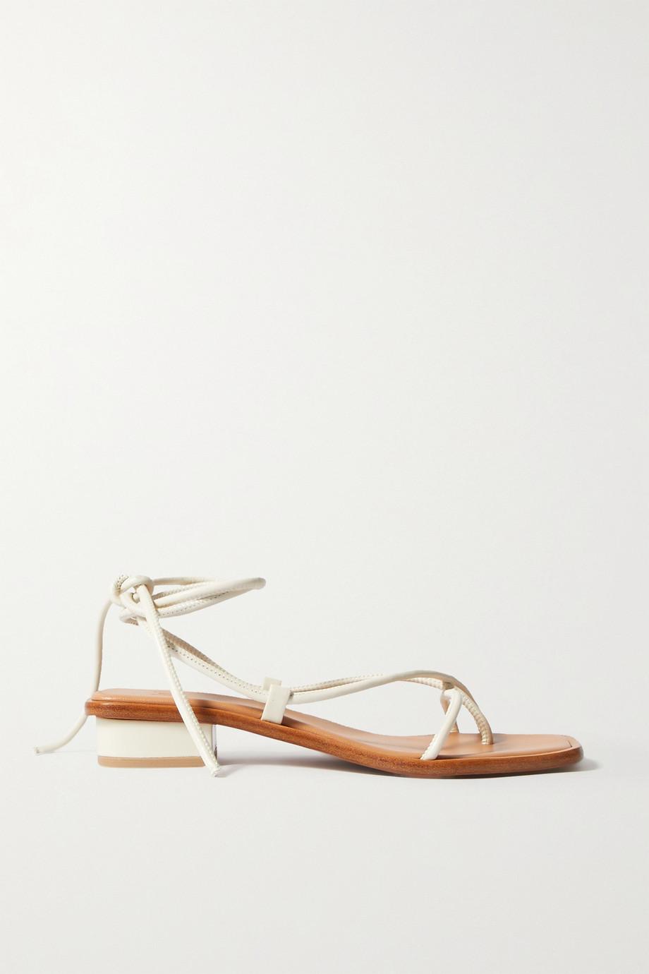 LOQ Ara leather sandals