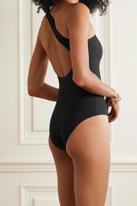 BONDI BORN Colette one-shoulder swimsuit