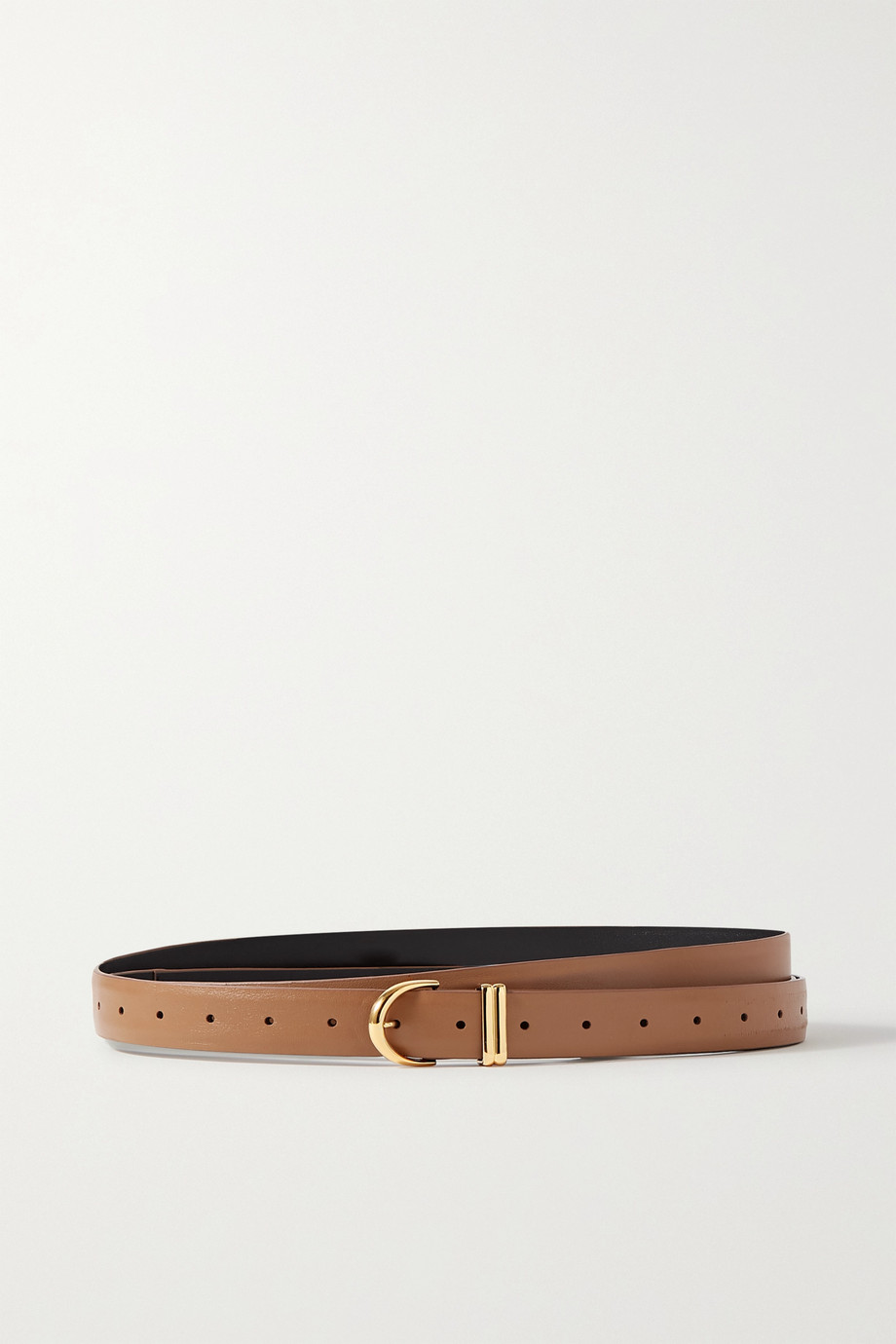 Khaite Brooke leather belt