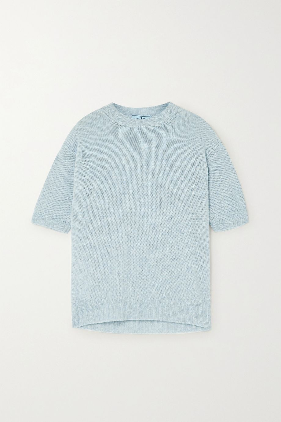 Prada Mélange virgin wool sweater