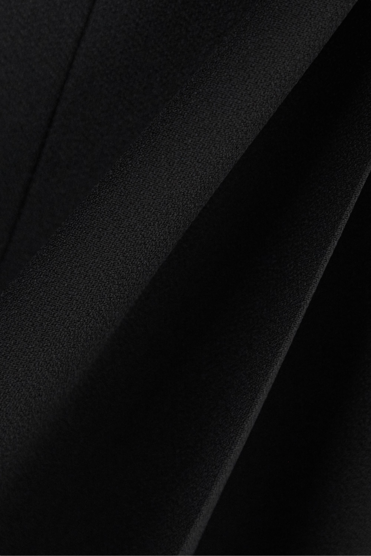 Black Crepe Wide-leg Pants | Prada