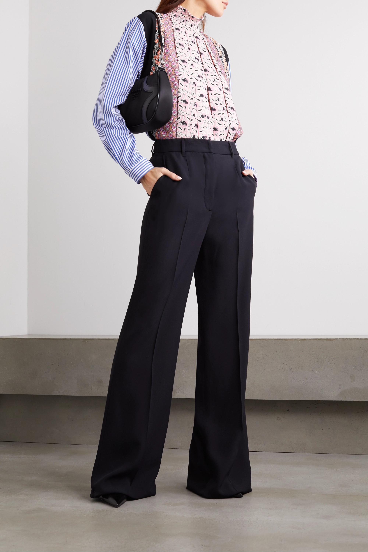 Prada Crepe wide-leg pants