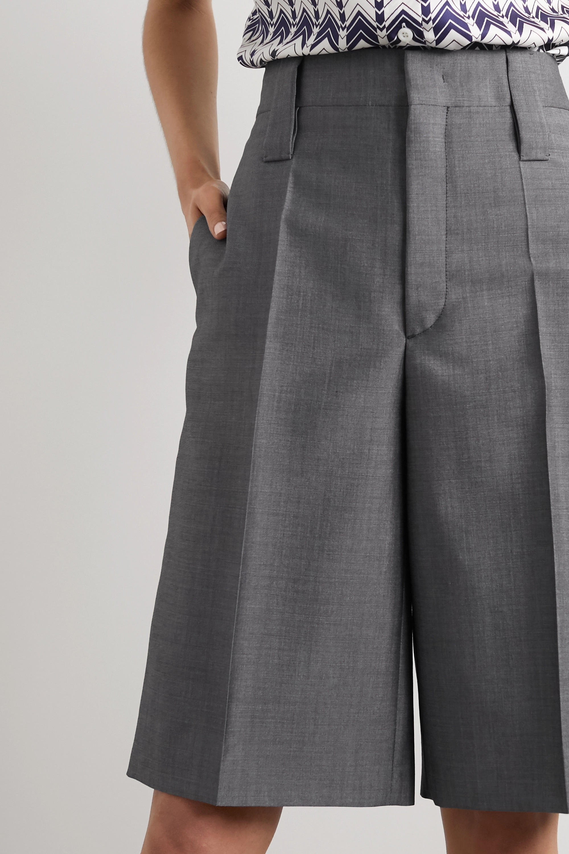 Prada Shorts aus einer Mohair-Wollmischung