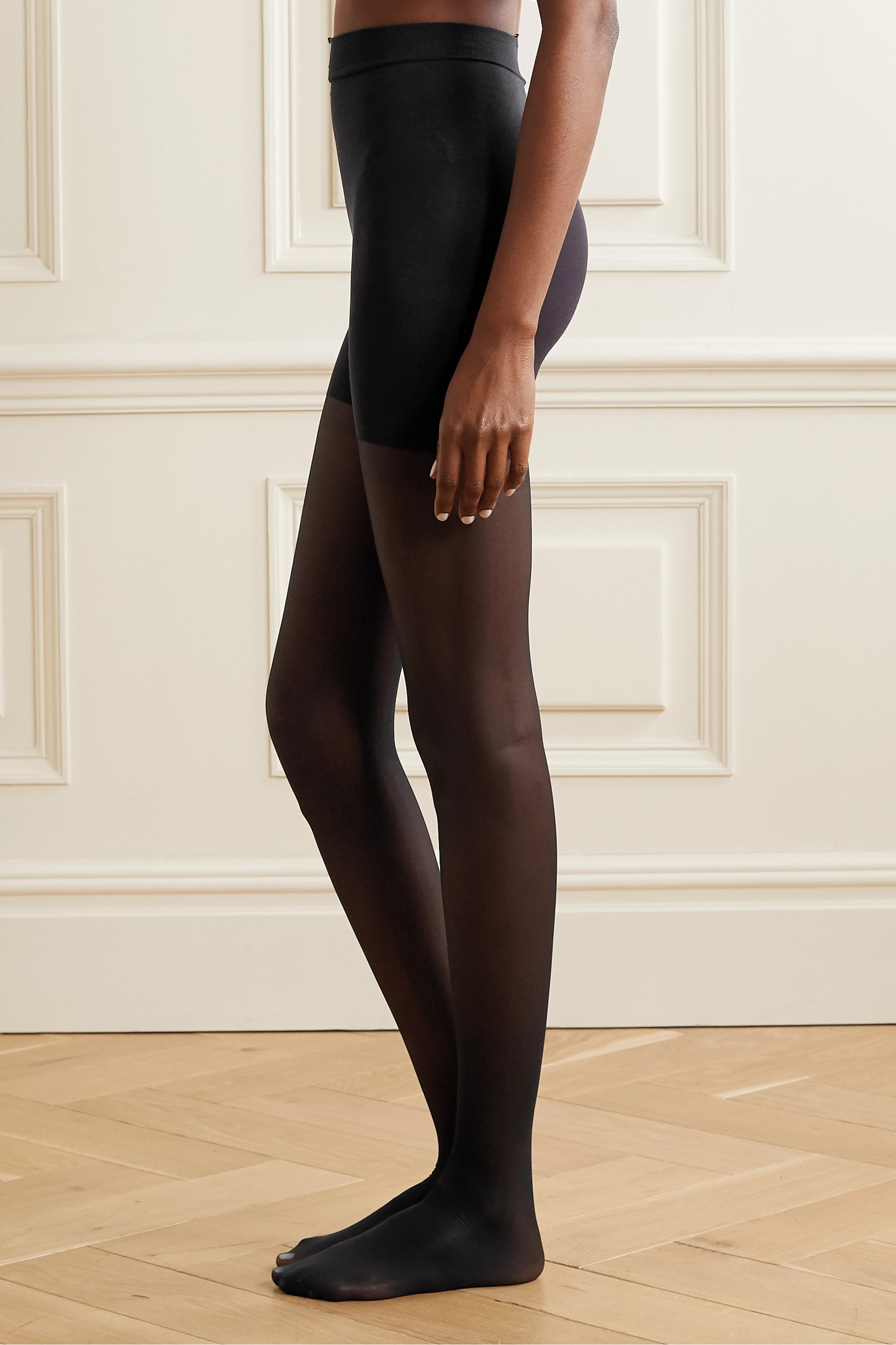 Spanx Graduated Compression high-rise 20 denier shaping tights