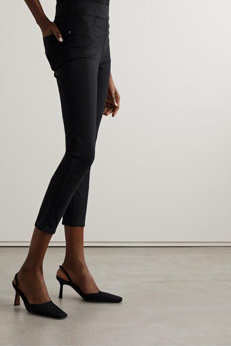 Stretch-ponte skinny pants