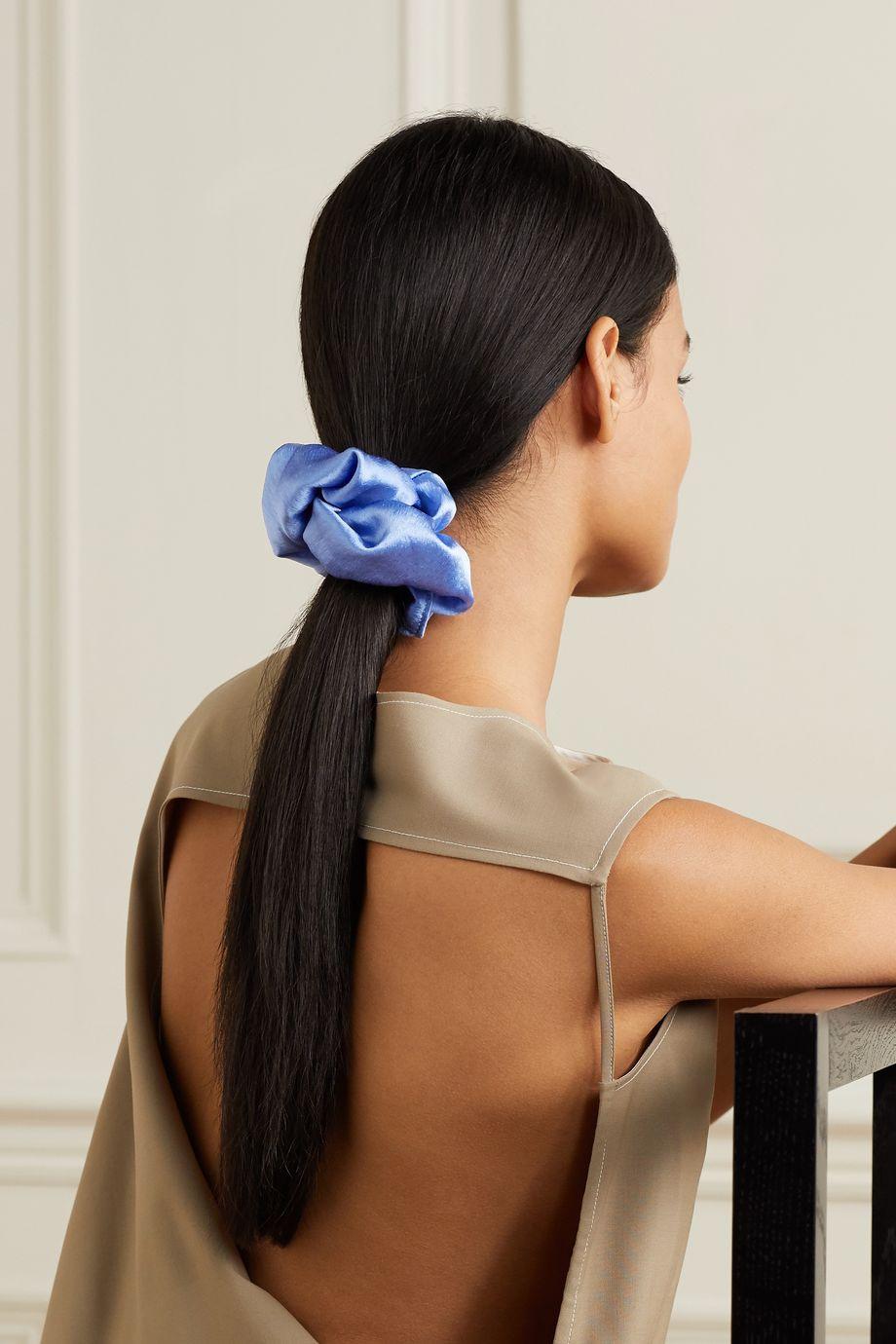 Jennifer Behr Hammered-silk hair tie