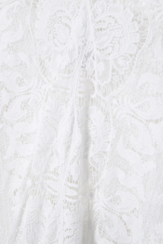 Miguelina Rachel crocheted cotton kaftan