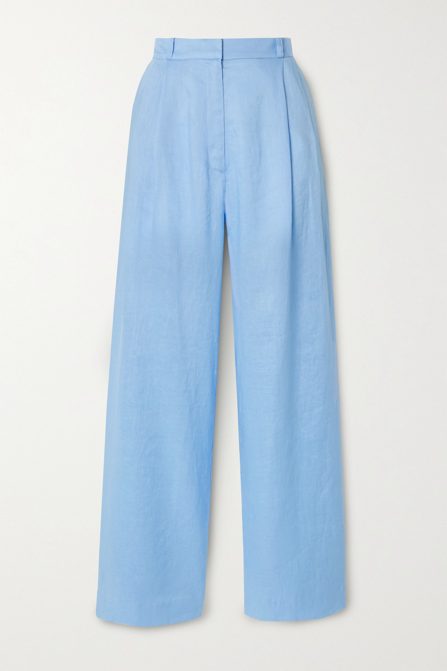 Miguelina Ainsley linen wide-leg pants