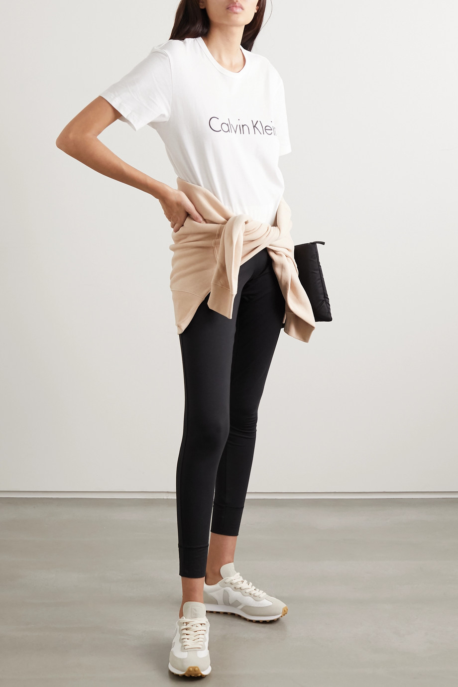 Calvin Klein Underwear T-shirt en jersey de coton imprimé