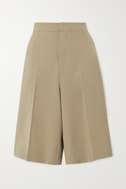GAUCHERE Praline wool-blend shorts
