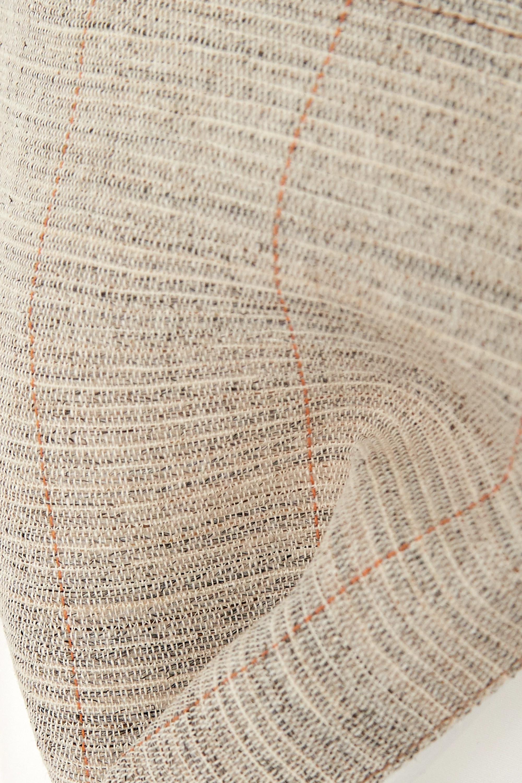 GAUCHERE Pamie oversized canvas-trimmed cotton-poplin shirt